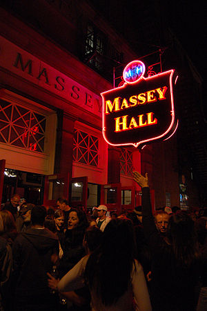 Massey Hall, Toronto