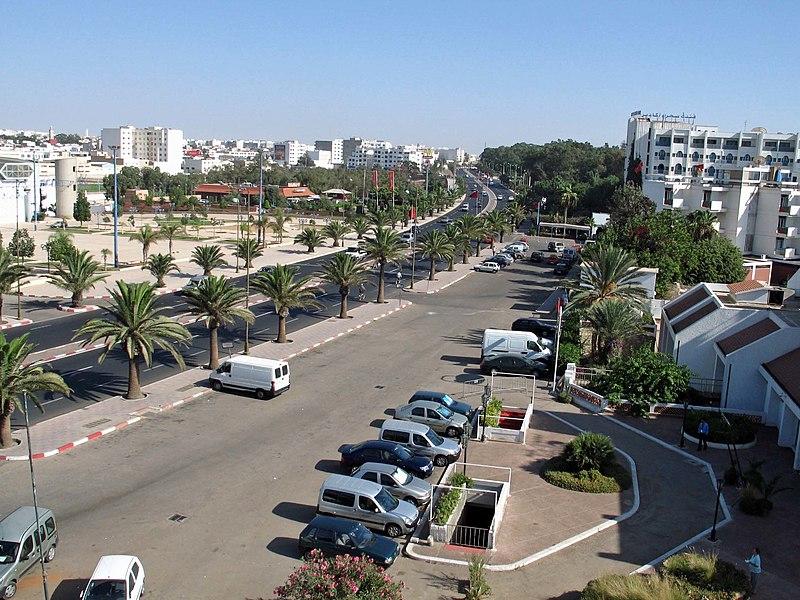 Ficheiro:Agadir Blvd Muhammad V.jpg