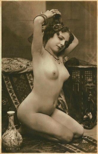 Jean Agélou - Fernande, Jean Agélou's model, 1910