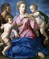Agnolo Bronzino - The Holy Family with the Infant Saint John the Baptist (Madonna Stroganoff).jpg