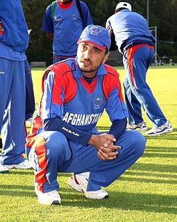 Raees Ahmadzai Afghan cricketer