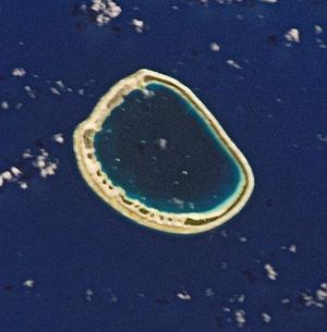 Ahunui - NASA picture of Ahunui Atoll
