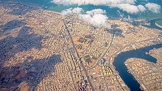 Ajman City in Emirate of Ajman, United Arab Emirates