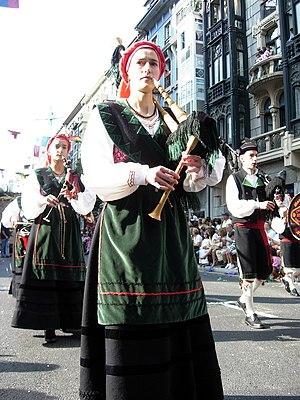 Gaita asturiana - Gaitera
