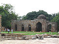 Alauddin's Madrasa from mosque (2897800849).jpg