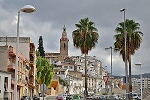 Albaida, Valencia - Image: Albaida. Vista des de l'estació nova