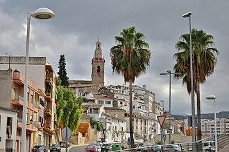 Albaida, Province of Valencia - Image: Albaida. Vista des de l'estació nova
