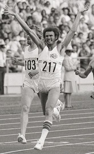 Alberto Juantorena - Juantorena winning the 800 m final at the 1976 Olympics