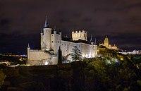 Alcazar at night - Segovia, Spain - panoramio.jpg
