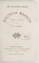 Louisa May Alcott: Les Quatre Filles du docteur Marsch