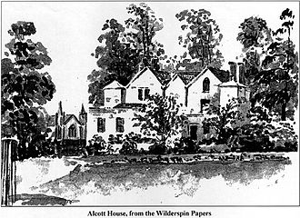 Alcott House - Alcott House from the Wilderspin Papers