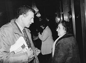 Aldo Busi - Aldo Busi with Alda Merini