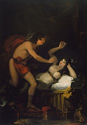 Francisco Goya: Allegory of Love, Cupid and Psyche