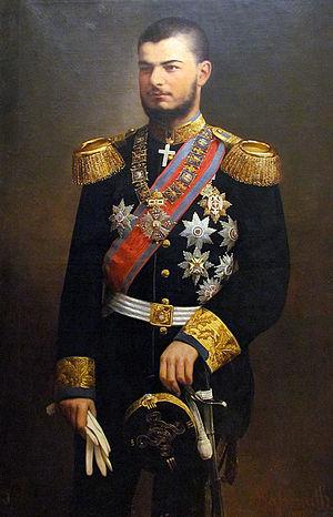 Alexander I of Serbia - King Alexander 1894.