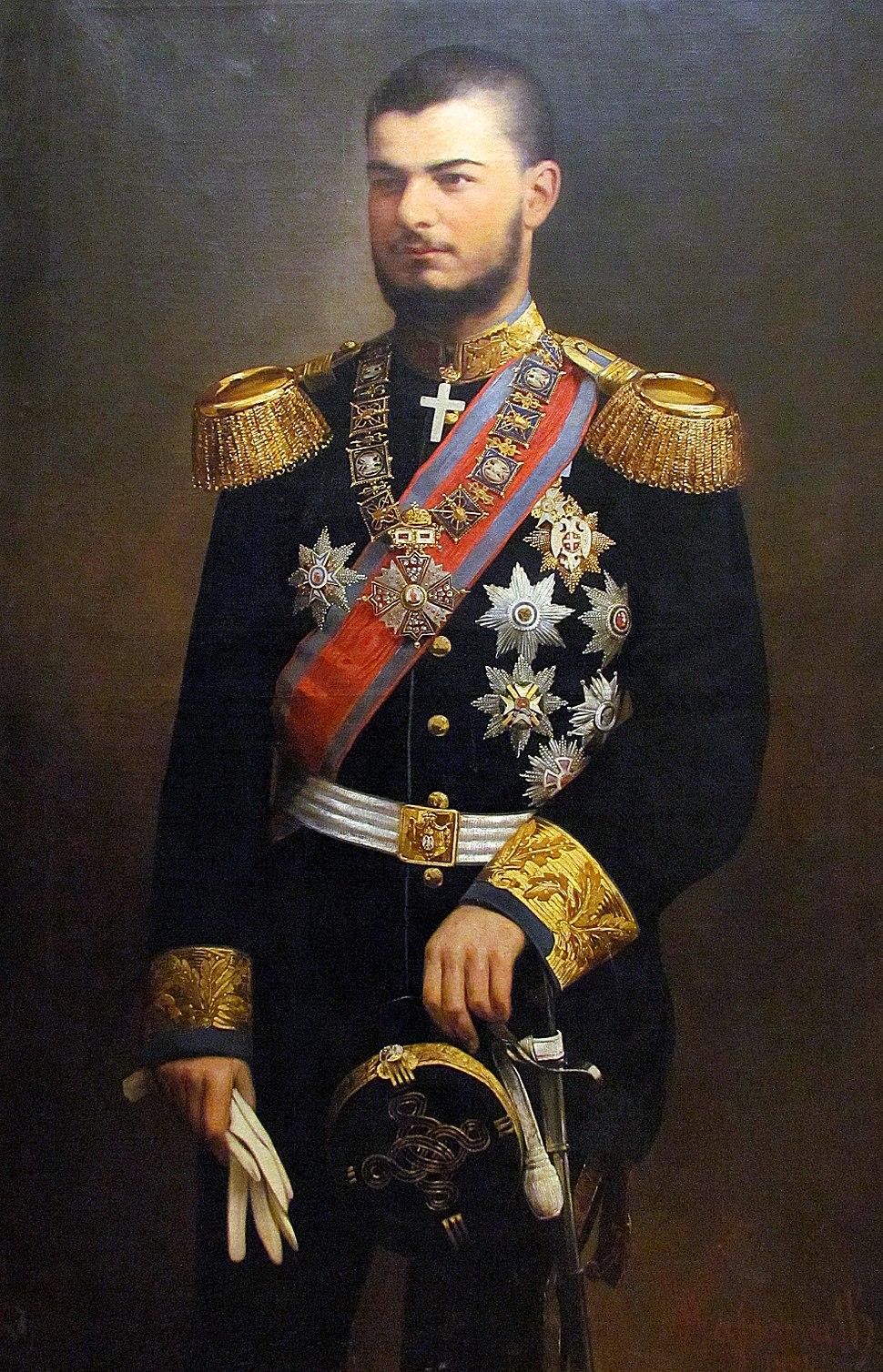 Aleksandar ob heinrich wassmuth 1894