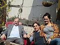 Alexander Genis, Daniel Genis and Petra Szabo.JPG
