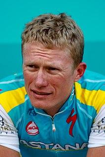 Alexander Vinokourov Kazakh road bicycle racer