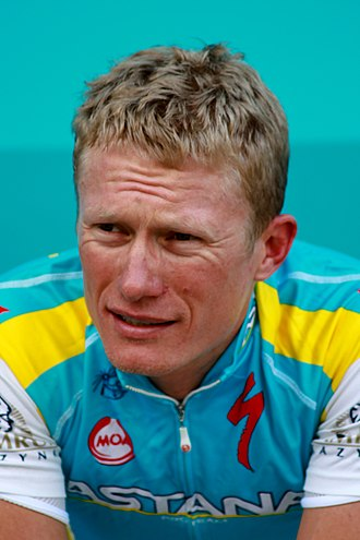 Alexander Vinokourov - Vinokourov at the 2011 Tour de Romandie in Switzerland