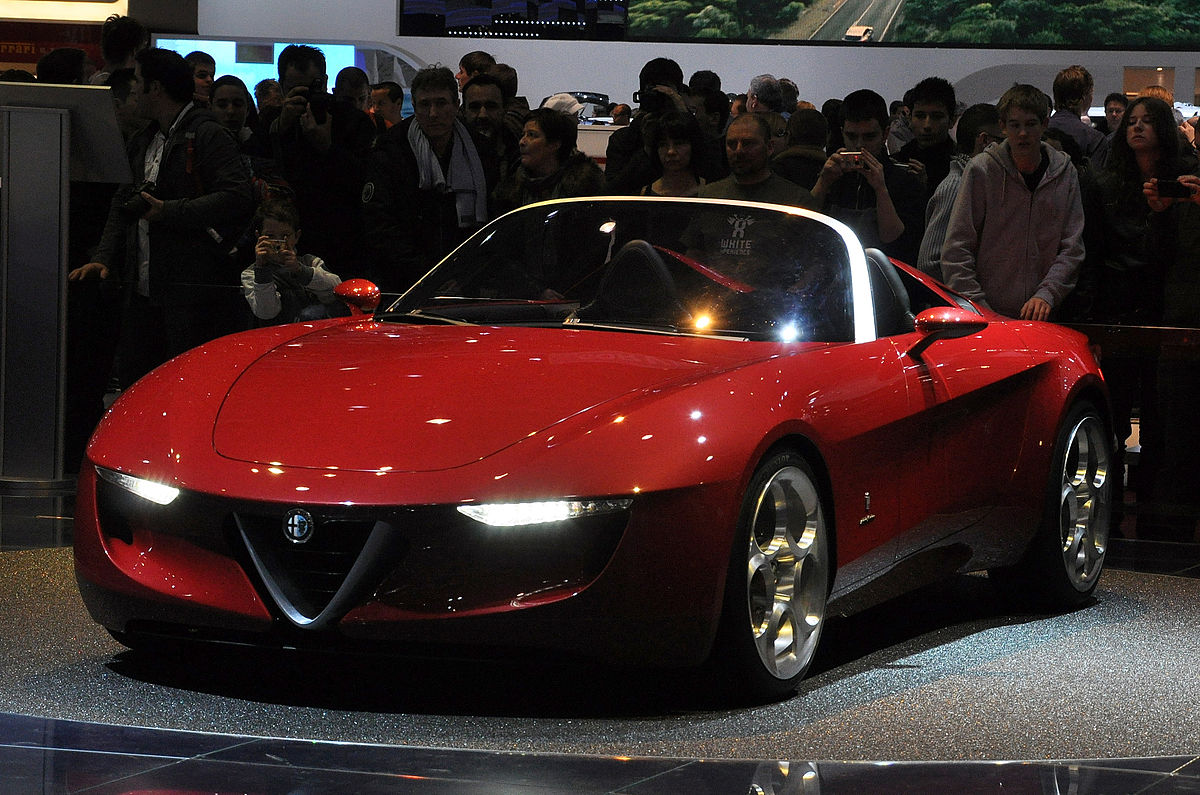 alfa romeo spider pininfarina 2uettottanta wikipedia. Black Bedroom Furniture Sets. Home Design Ideas