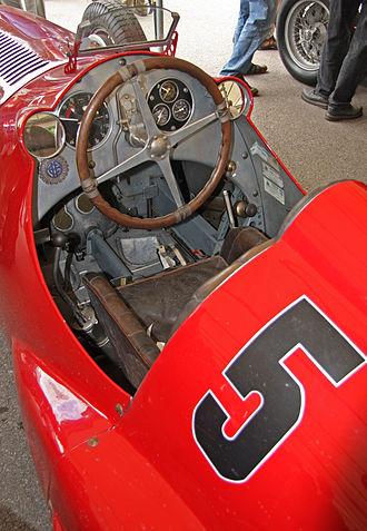 Alfa Romeo Tipo 308 - Tipo 308 monoposto.