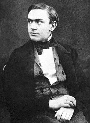 Alfred Nobel - Alfred Nobel at a young age