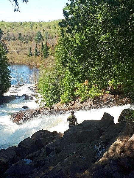 File:Algonquin waterfall.jpg