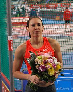 Alina Talay Belarusian hurdler