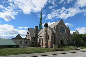 National Register of Historic Places listings in Penobscot County, Maine - Image: All Souls Congregational Church, Bangor ME