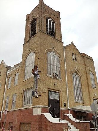 Allen Chapel AME Church (Fort Worth, Texas) - Image: Allen Chapel
