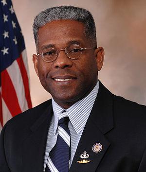 Allen West (politician) - Image: Allen West, Official Portrait, 112th Congress