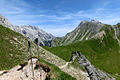 Alpen Wettersteingebirge Felderer Joch.jpg
