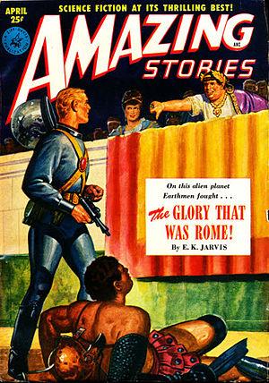 Satisfaction Guaranteed (short story) - Image: Amazing stories 195104
