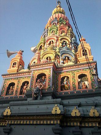 Ambajogai - Yogeshwari (Amba) Temple Top at Ambajogai