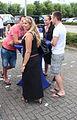 Ambtenaren bij evenement Tour de France in Spijkenisse.jpg