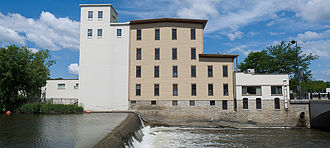 Northfield, Minnesota - The Ames Mill on the Cannon River