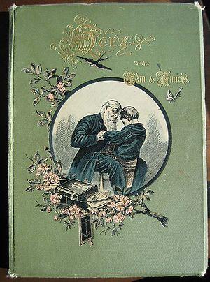 Heart (novel) - Cover of Herz, an 1894 German translation.