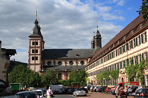 Leiningen family - Amorbach Abbey