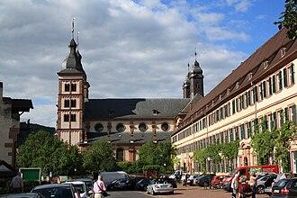 Principality of Leiningen - Amorbach Abbey