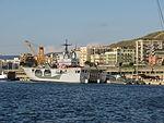 Amphibious assault ship San Giorgio (L 9892) - Harbour of Reggio Calabria - Italy - 28 Sept. 2008 - (4).jpg