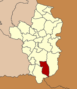 Amphoe location in Ubon Ratchathani Province