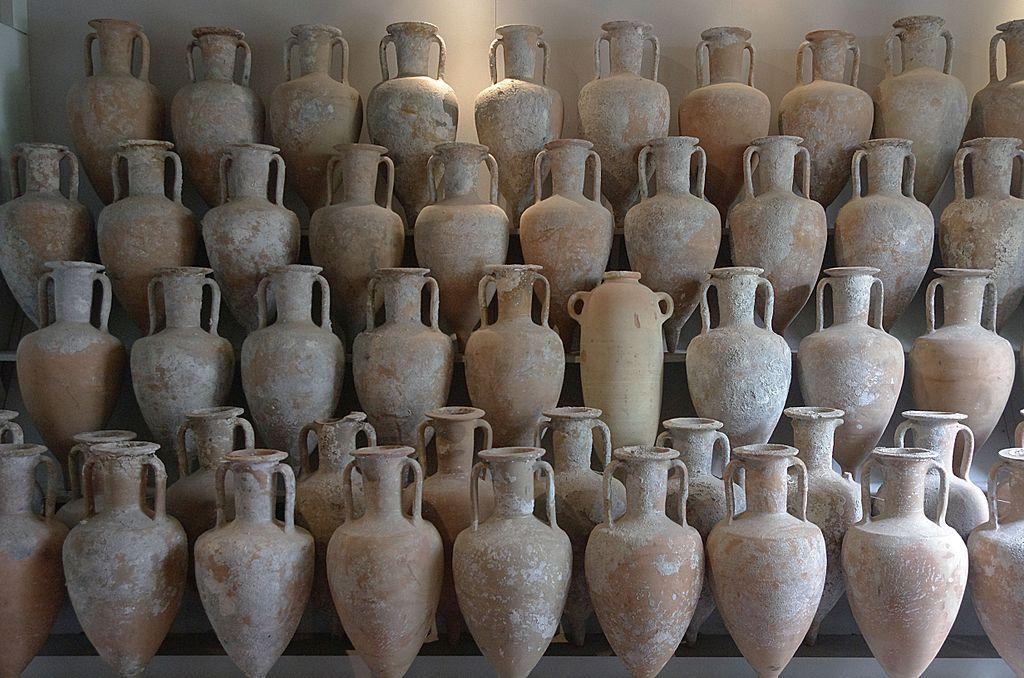 Amphoren Liparisches Museum Lipari