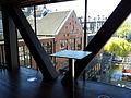 Amsterdam, Stadsschouwburg, Nieuwe Foyer, uitzicht op Melkweg2.jpg