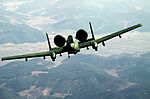An air-to-air front view of a 25th Tactical Fighter Squadron A-10 Thunderbolt II aircraft during Exercise Team Spirit '86 DF-ST-87-09783.jpg