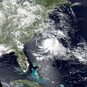 1997 Atlantic hurricane season - Image: Ana jun 30 1997 1851Z