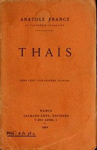 Thaïs cover