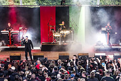 And One auf dem Blackfield Festival 2013