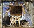 Andrea Mantegna - Inscription with Putti - WGA14016.jpg