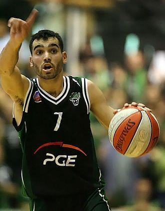 Andrés Rodríguez (basketball) - Rodríguez playing for Turów Zgorzelec during the 2008 PLK Finals.