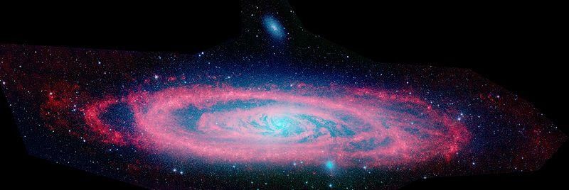 File:Andromeda Galaxy Spitzer.jpg