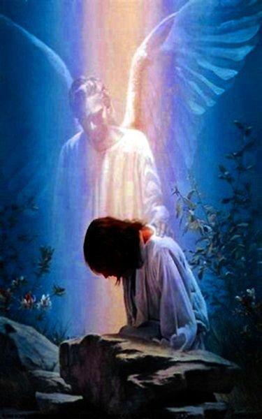 Angel & Praying